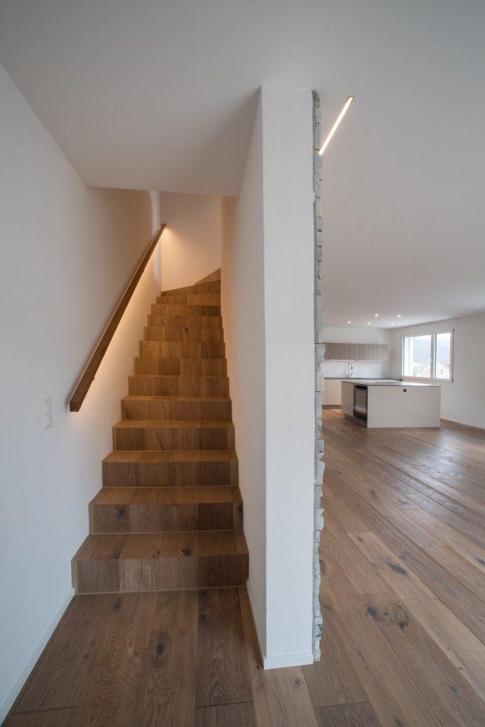 Treppengeländer mit LED