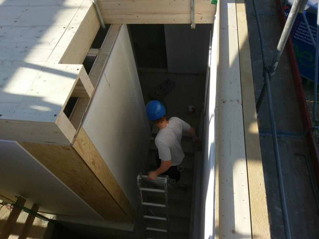 Innenansicht des Treppenhauses