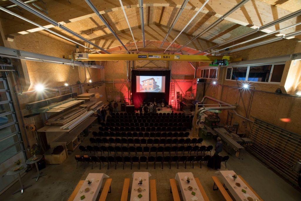 Werkhalle dient als Konzertlokal